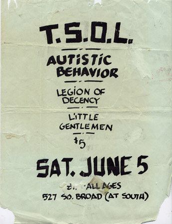 TSOL Love Hall FLyer